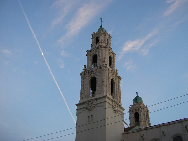 Picture of Mission Dolores in San Francisco